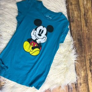 Disney Mickey Mouse t-shirt turquoise